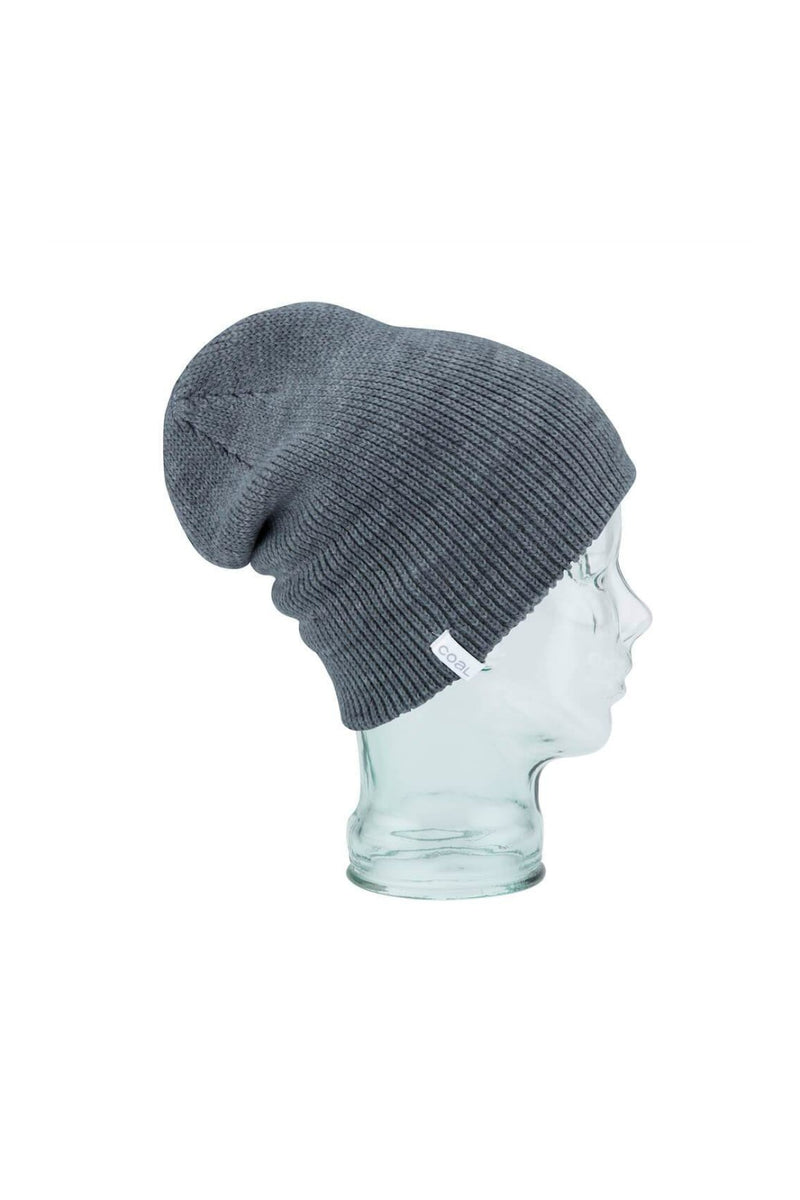 Coal Frena Solid Beanie in Charcoal