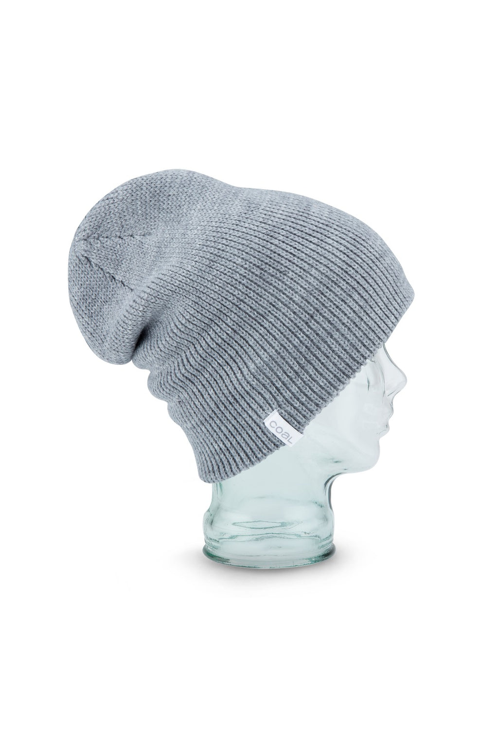 Coal Frena Solid Beanie in Heather Grey