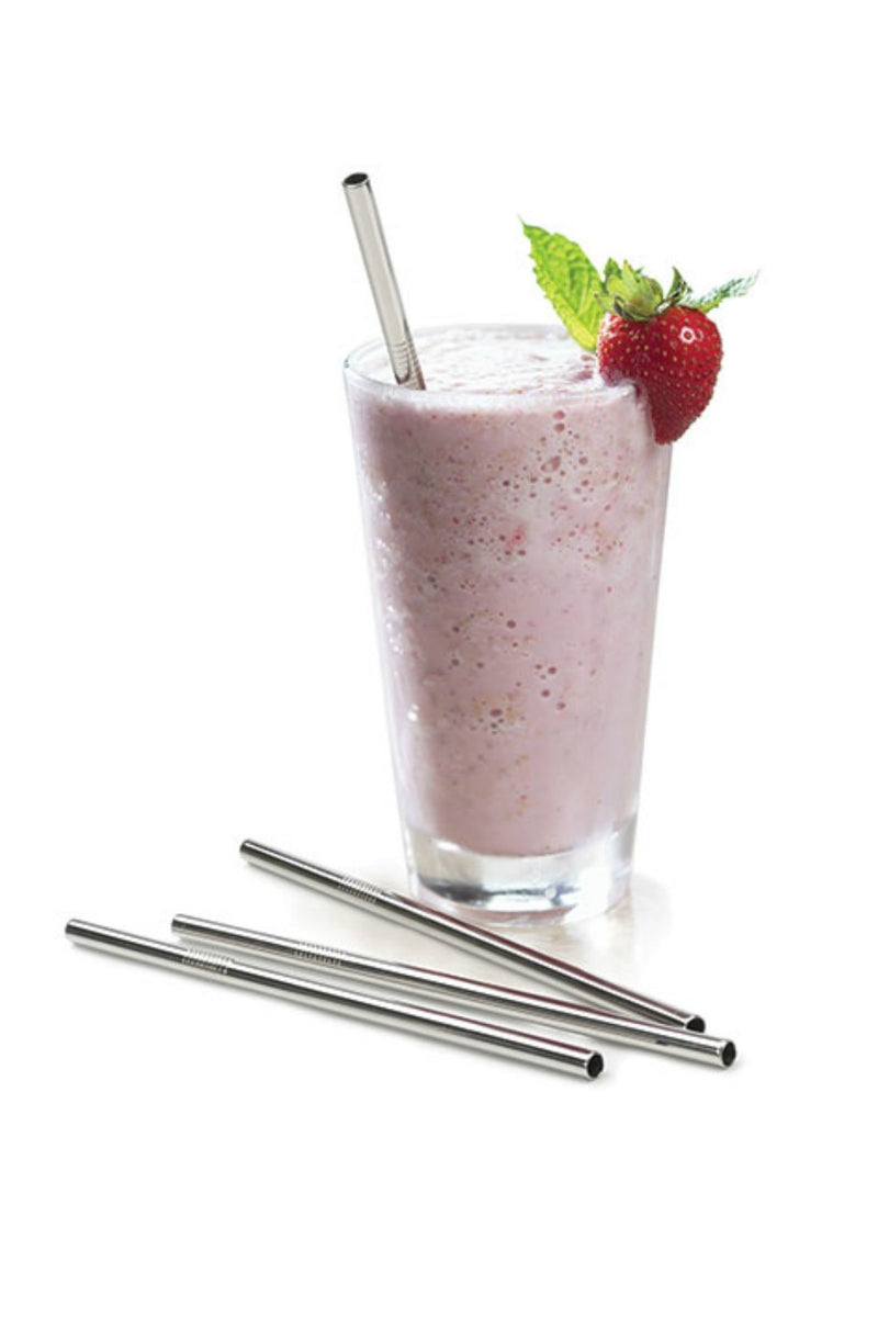 Stainless Steel Frozen Drink Straw 8 1/2