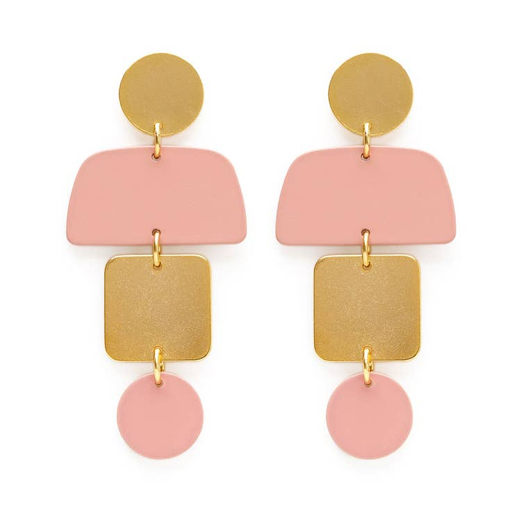 Amano Studio Geometric Stack Earrings