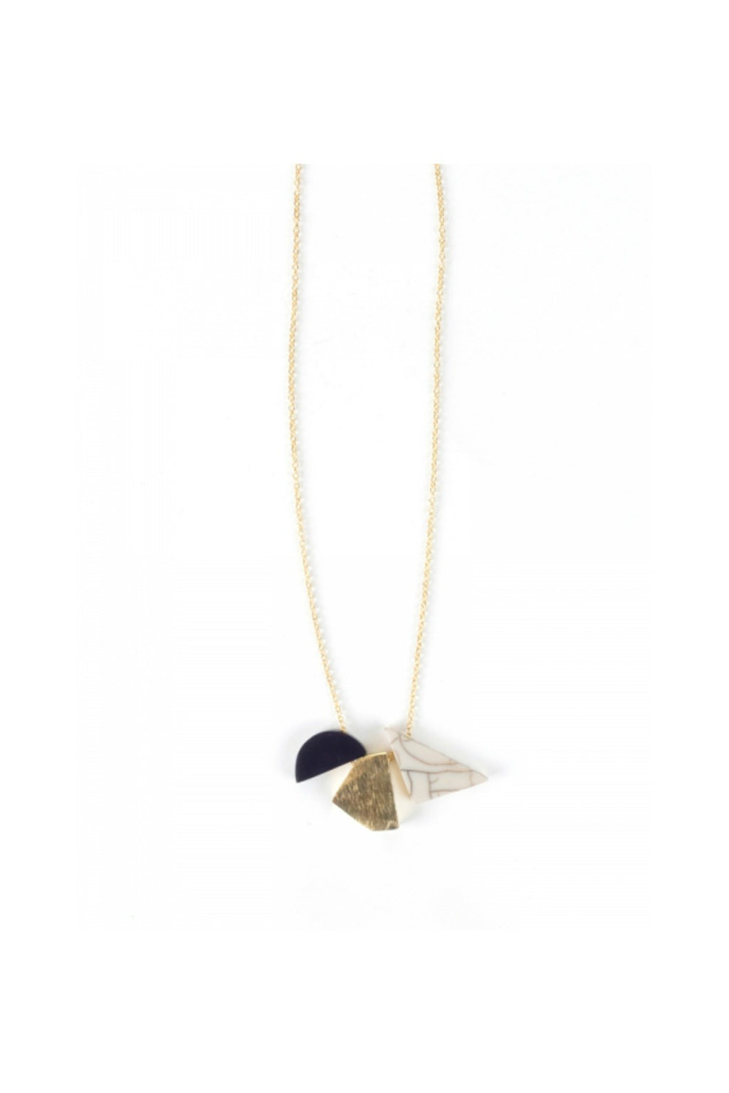 Mata Traders Geo Shapes Necklace