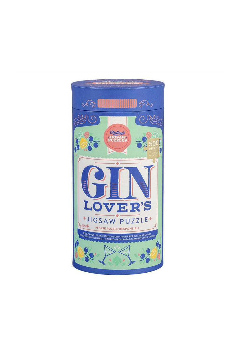 Ridley's Games Gin Lover's 500 Piece Jigsaw Puzzle