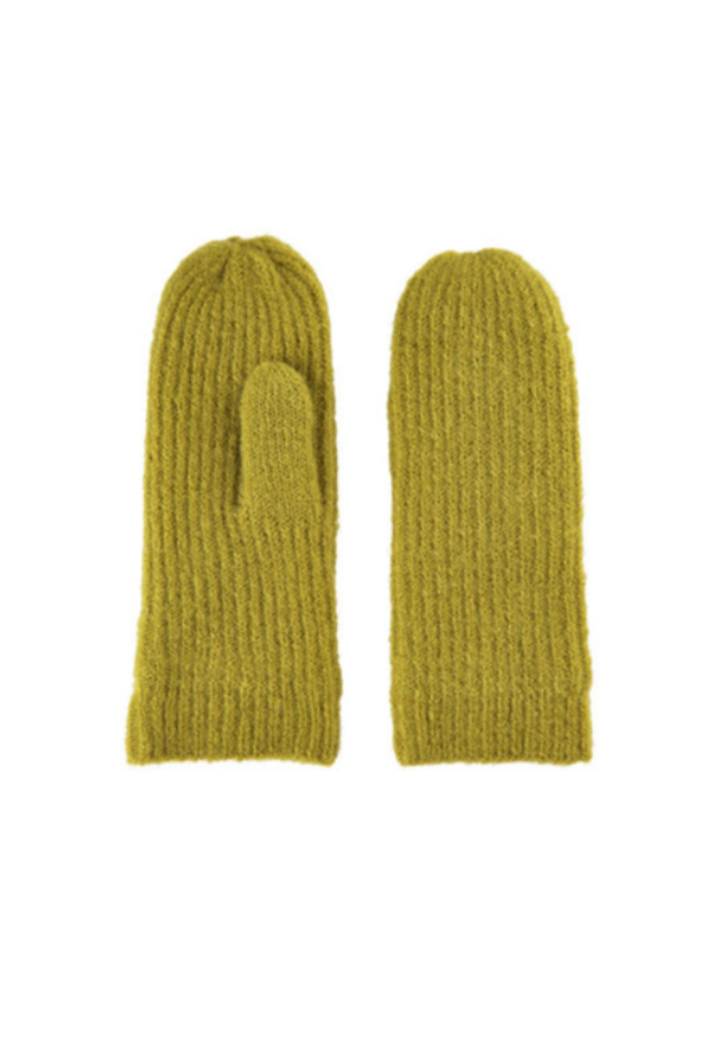 Numph Marcelina Mittens - Golden Olive