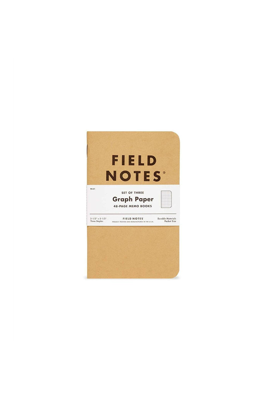 Field Notes Graph 3-Pack