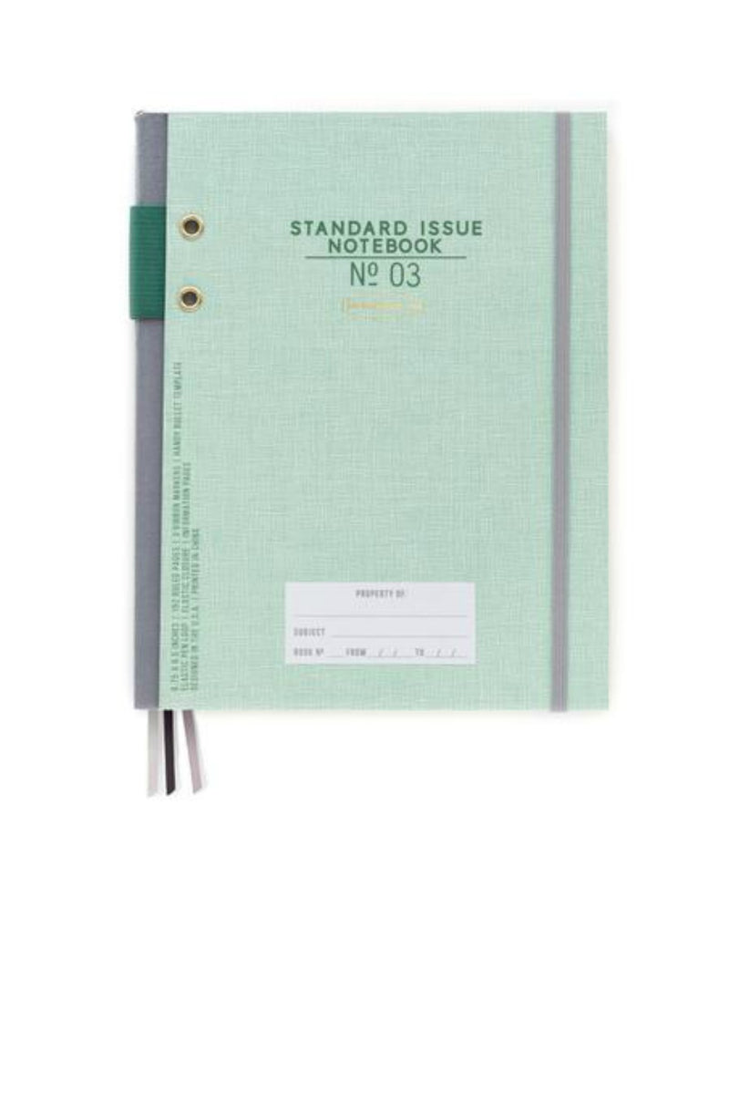 Designworks Ink Hardcover Fabric Spine Notebook - Green