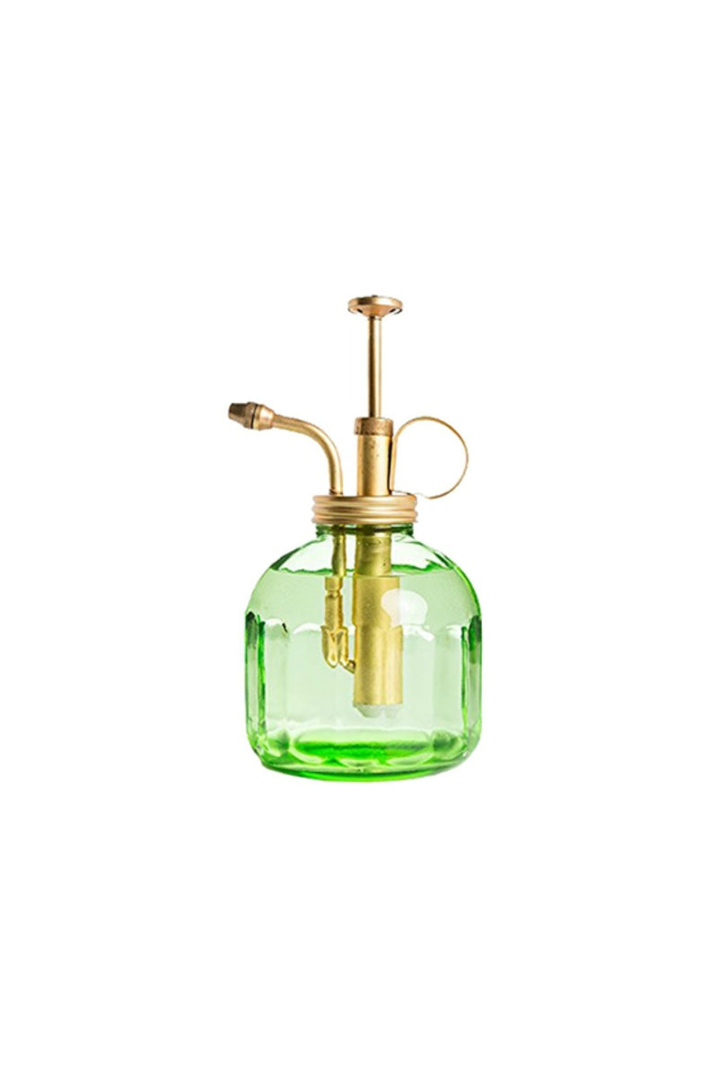 Terrebonne Limited Glass Mister - Green/Brass