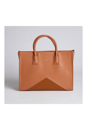 Pixie Mood Greta Work Tote in Caramel