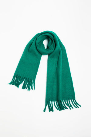 Look Vivid Colored Grunge Scarf in Green