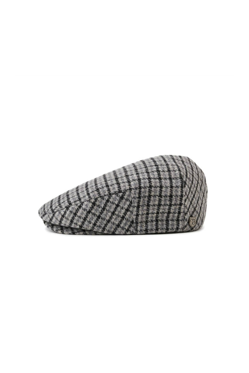 Brixton Hooligan Snap Cap in Grey/Charcoal