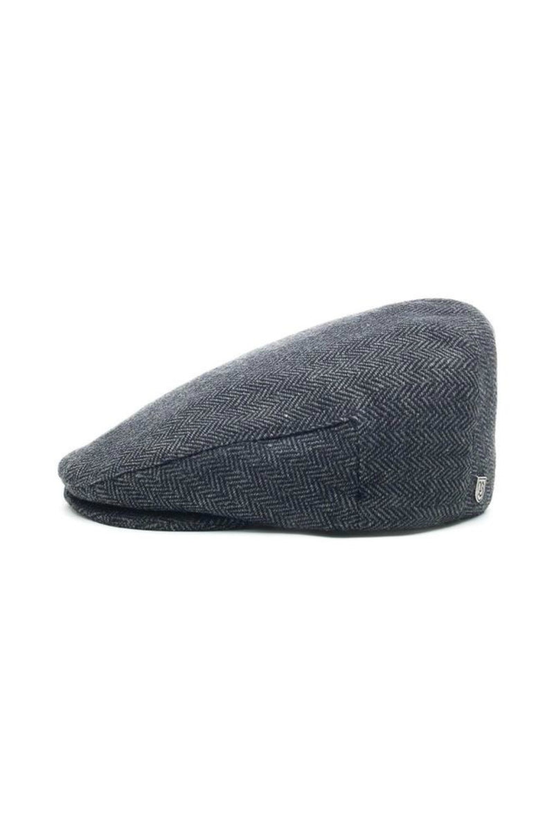 Brixton Hooligan Snap Cap in Grey/Black