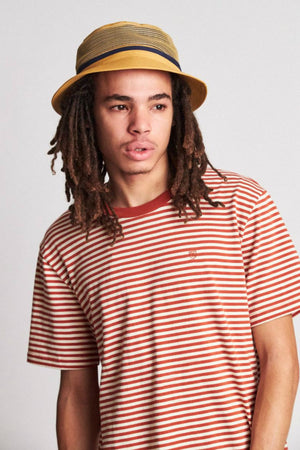 Brixton Hardy Bucket Hat - Nugget Gold