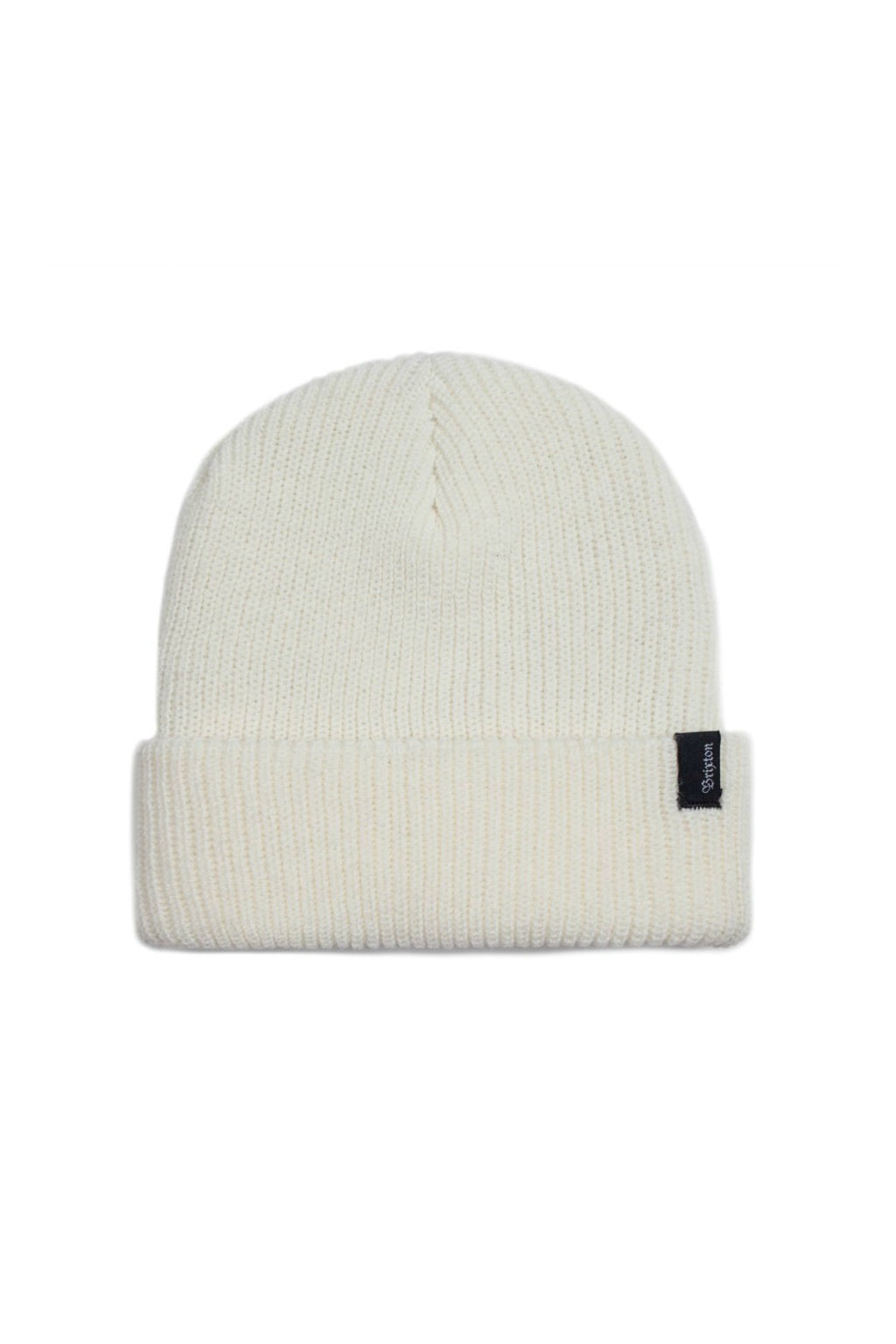 Brixton Heist Beanie in Off White