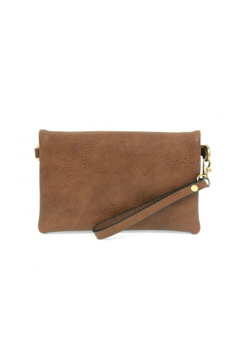 Joy Susan Kate Crossbody Clutch - Hickory
