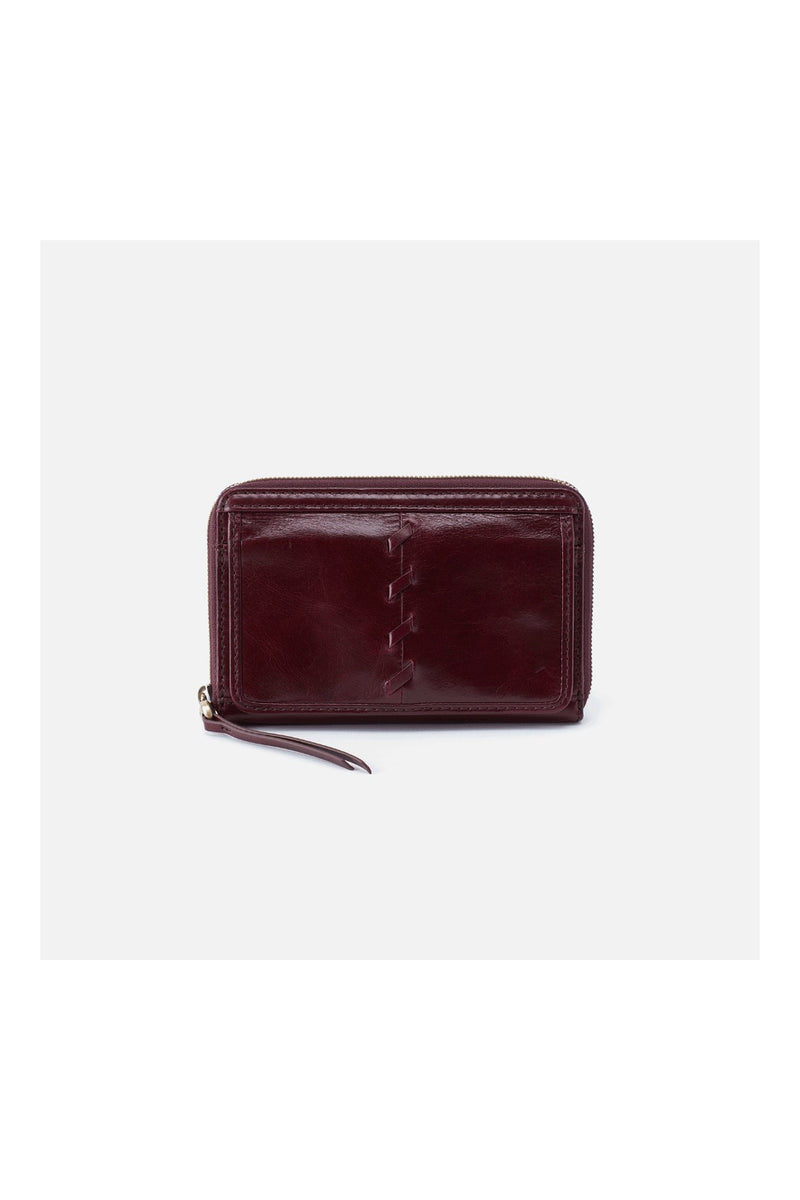 Hobo Elm Wallet - Deep Plum