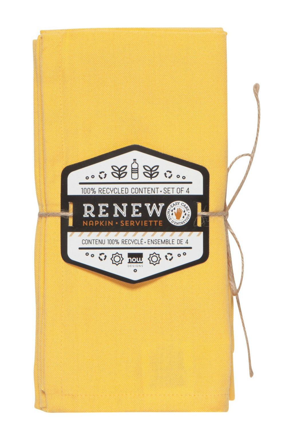 Now Designs Renew Napkins Set of 4 - Honey