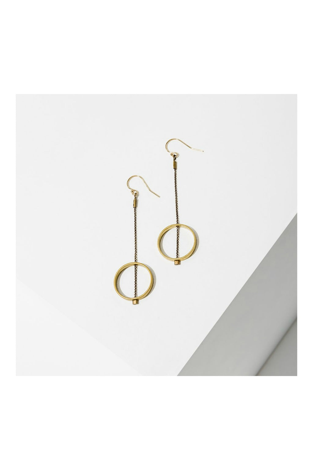 Larissa Loden Horizon Circle Earrings