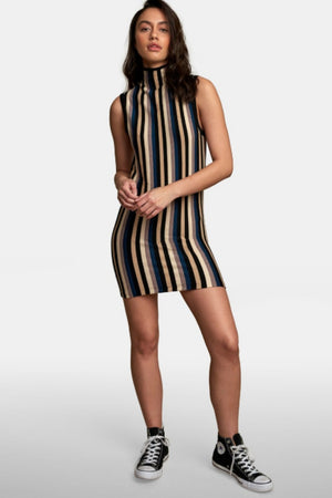 RVCA Inbound Mock Neck Dress
