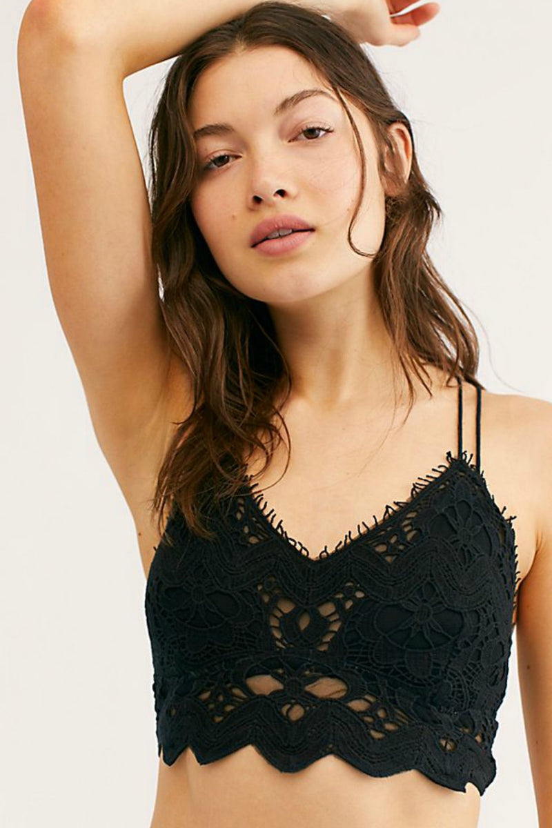 Free People Ilektra Bralette in Black
