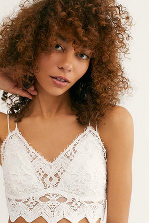 Free People Ilektra Bralette in White