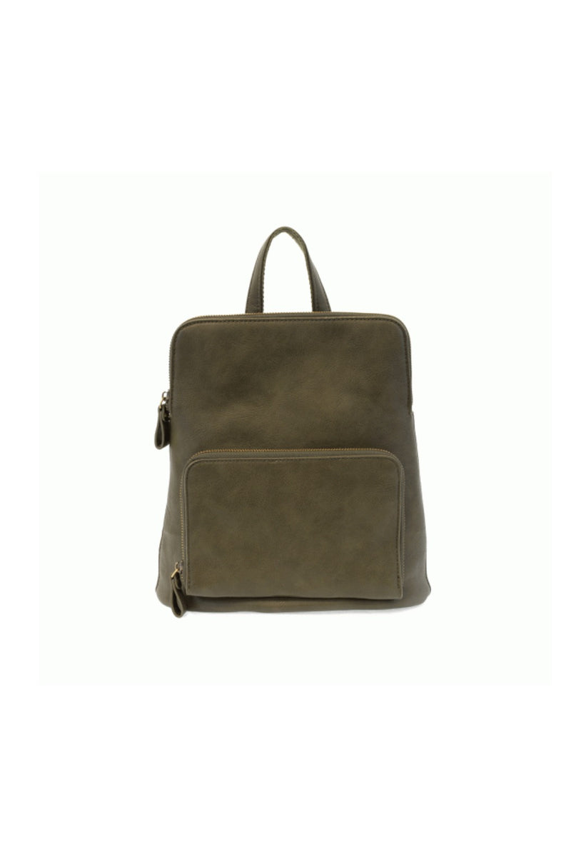 Joy Susan Julia Mini Backpack - Dark Olive