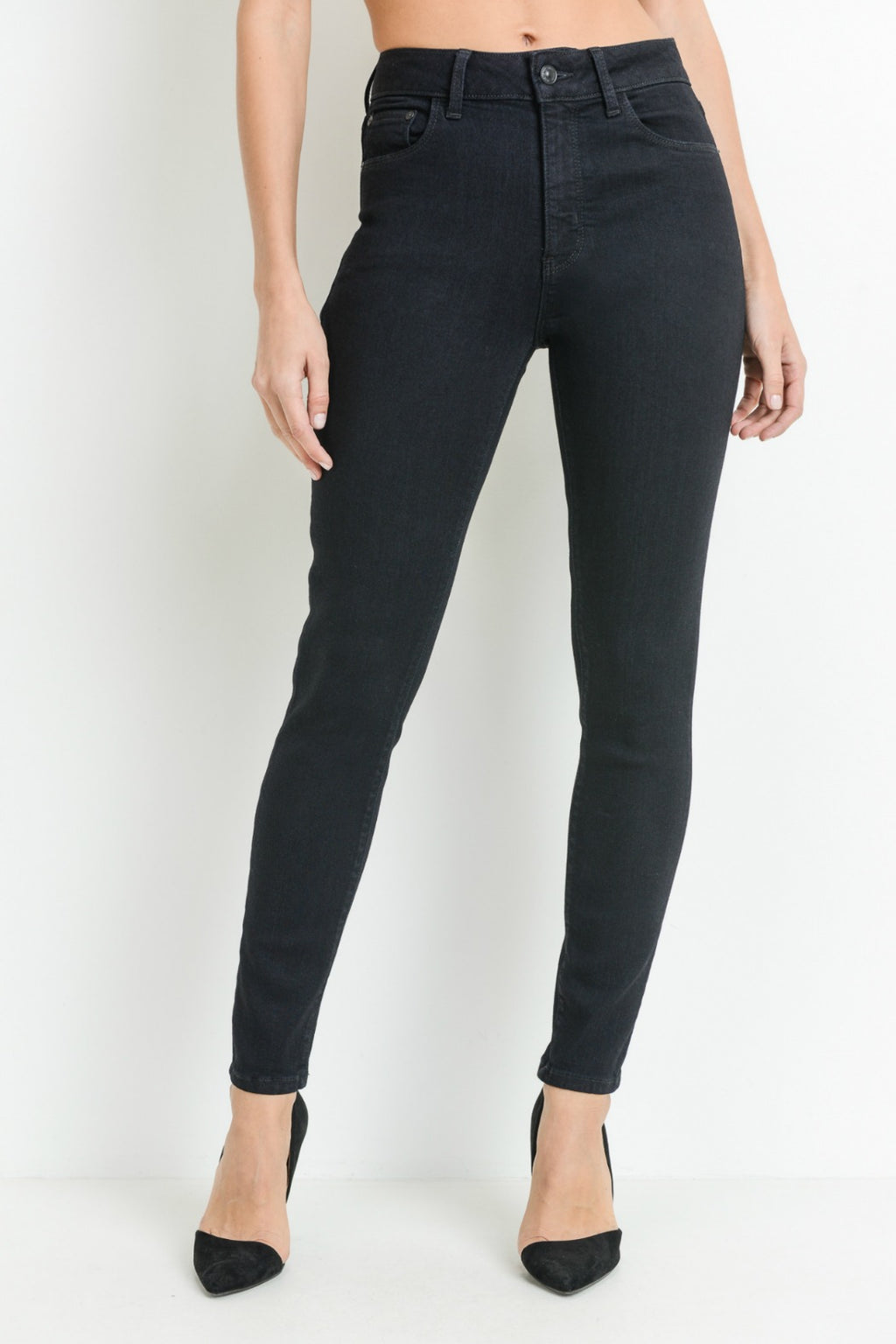 "Just Black Denim 11"" High Rise Basic Skinny"