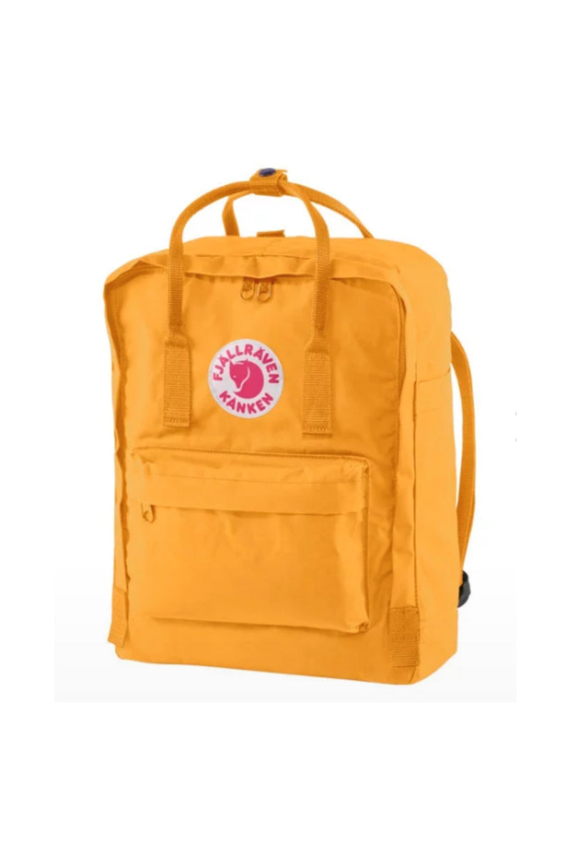 Fjällräven Kånken Backpack in Warm yellow