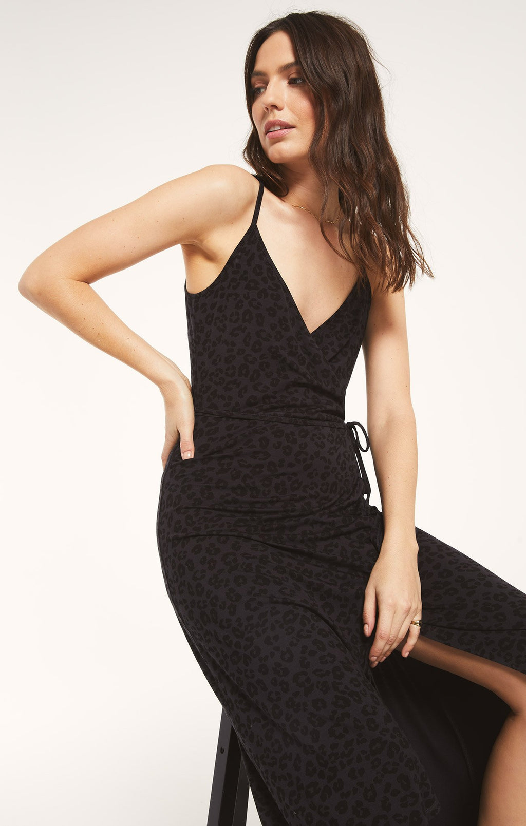 Z Supply Karlie Leo Dress - Black