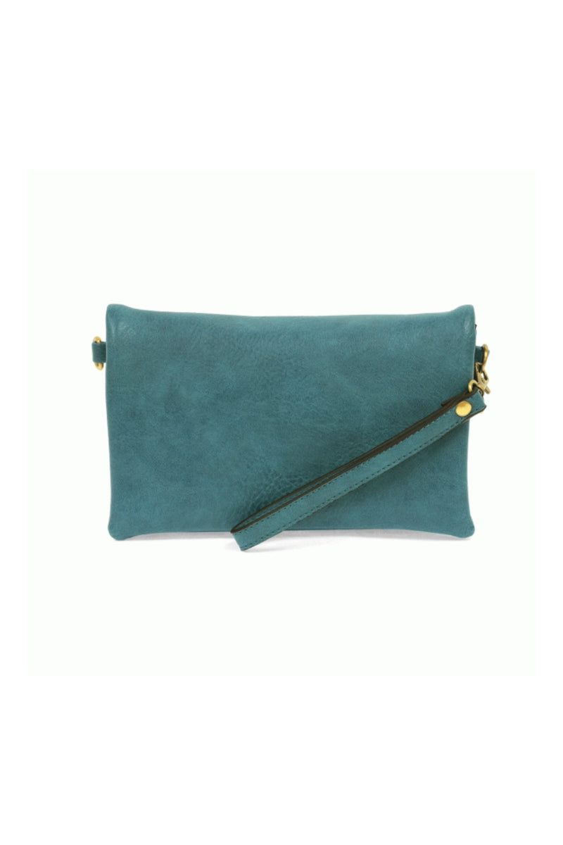 Joy Susan Kate Crossbody Clutch - Blue Lagoon