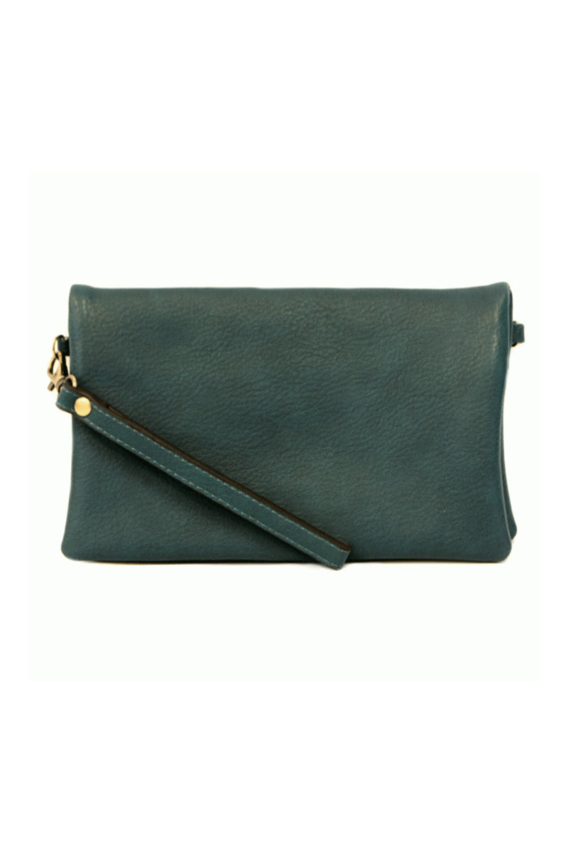 Joy Susan Kate Crossbody Clutch - Dark Teal
