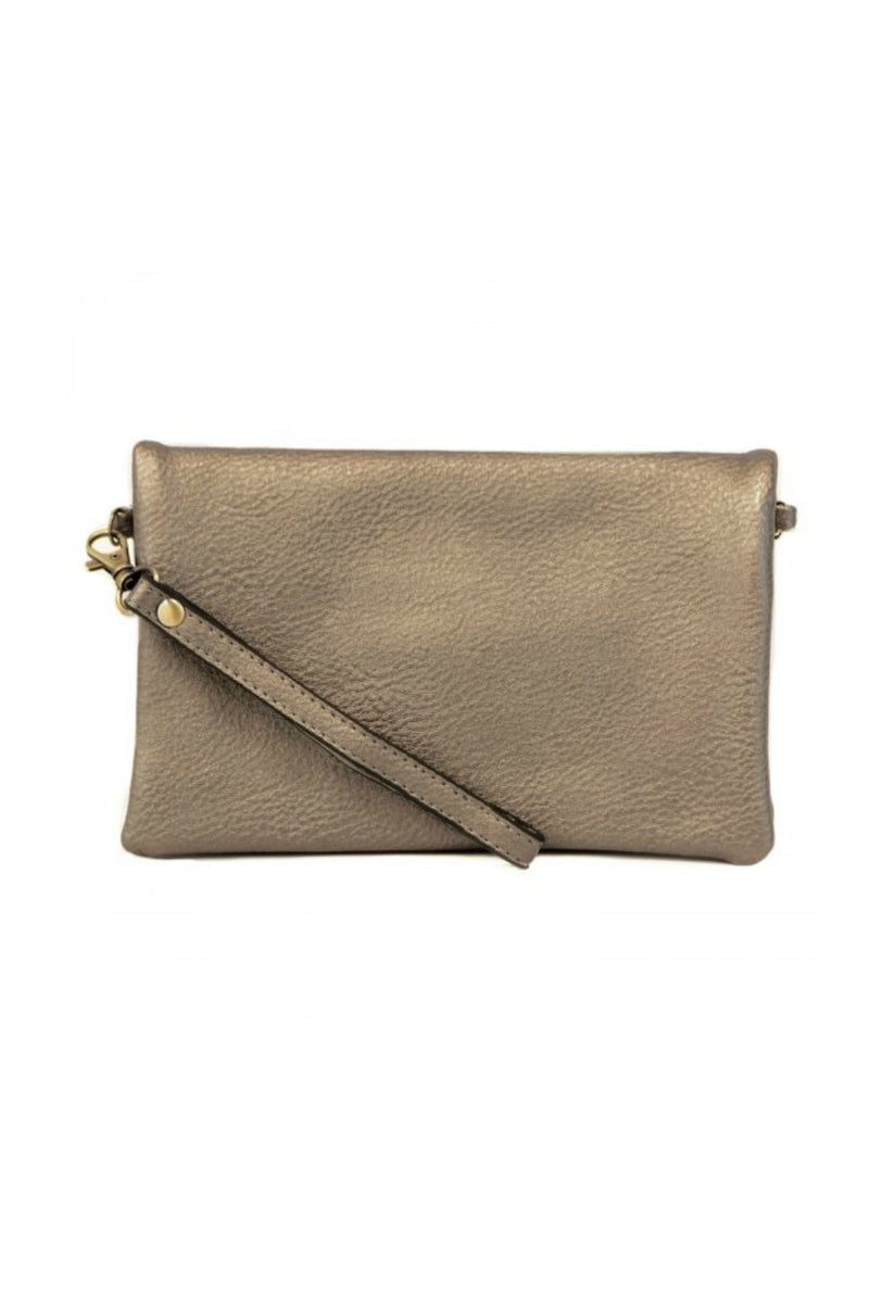 Joy Susan Kate Crossbody Clutch - Pewter