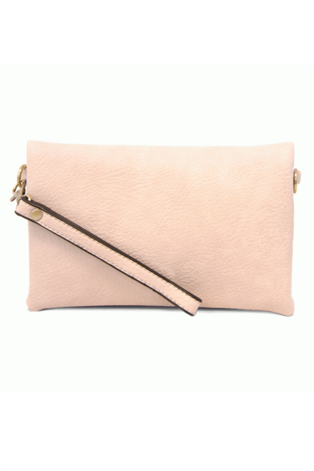 Kate Crossbody Clutch - Barely Pink