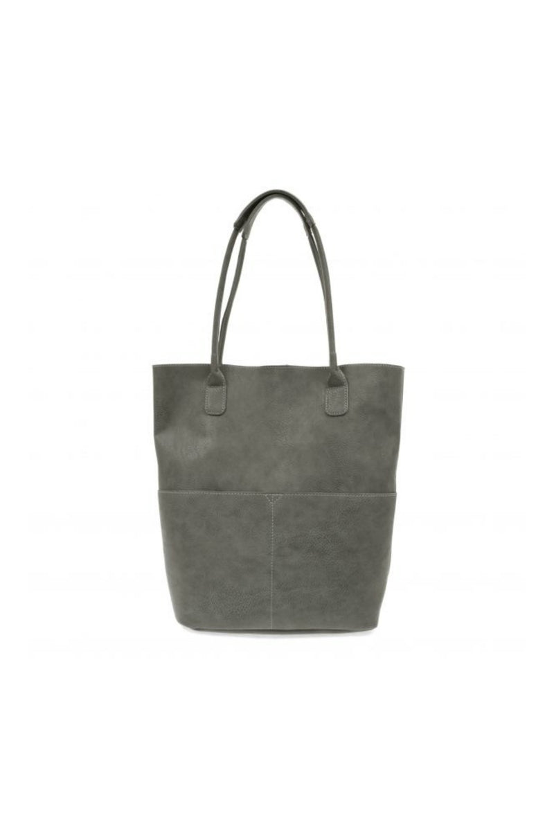 Joy Susan Kelly Front Pocket Tote - Charcoal