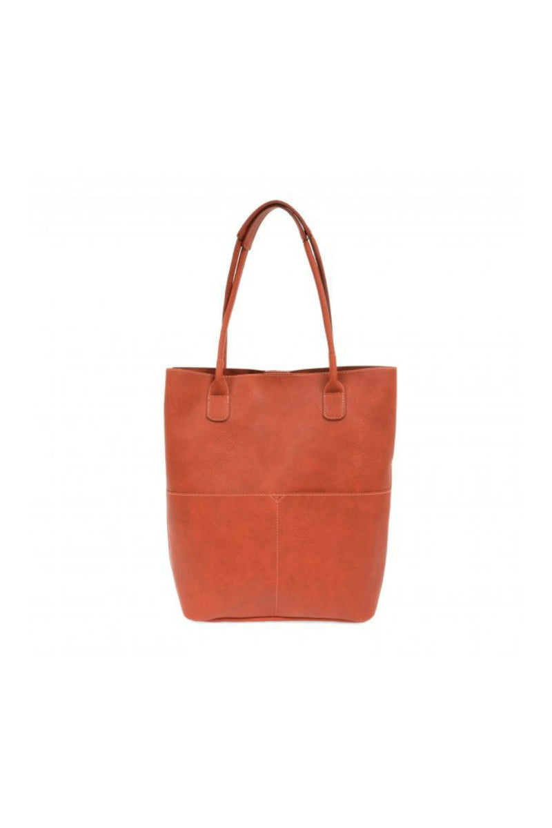 Joy Susan Kelly Front Pocket Tote - Persimmon
