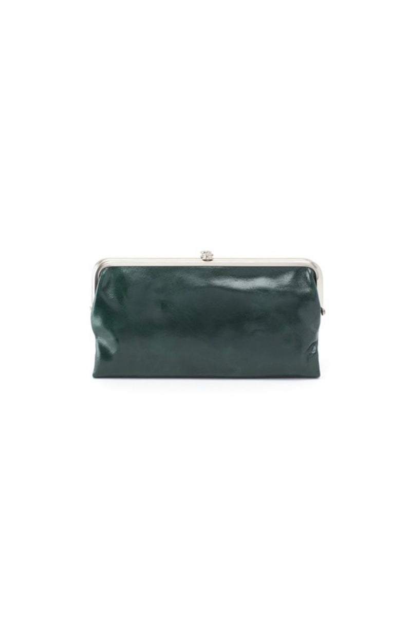 Hobo Lauren Wallet in Evergreen