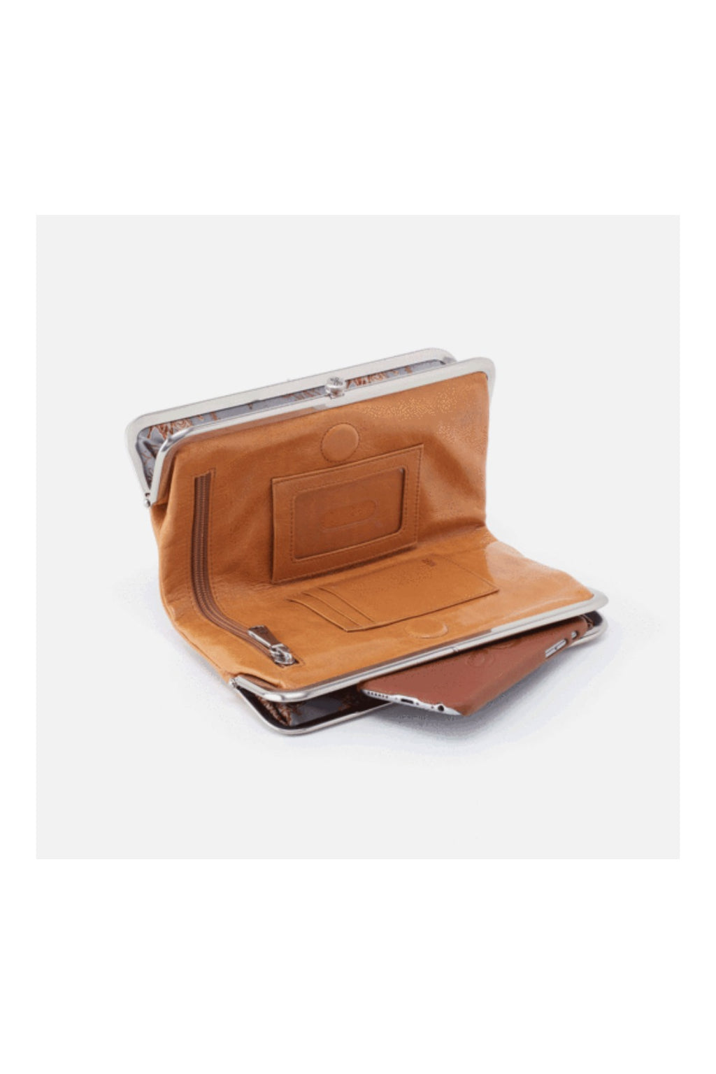 Hobo Lauren Wallet - Honey