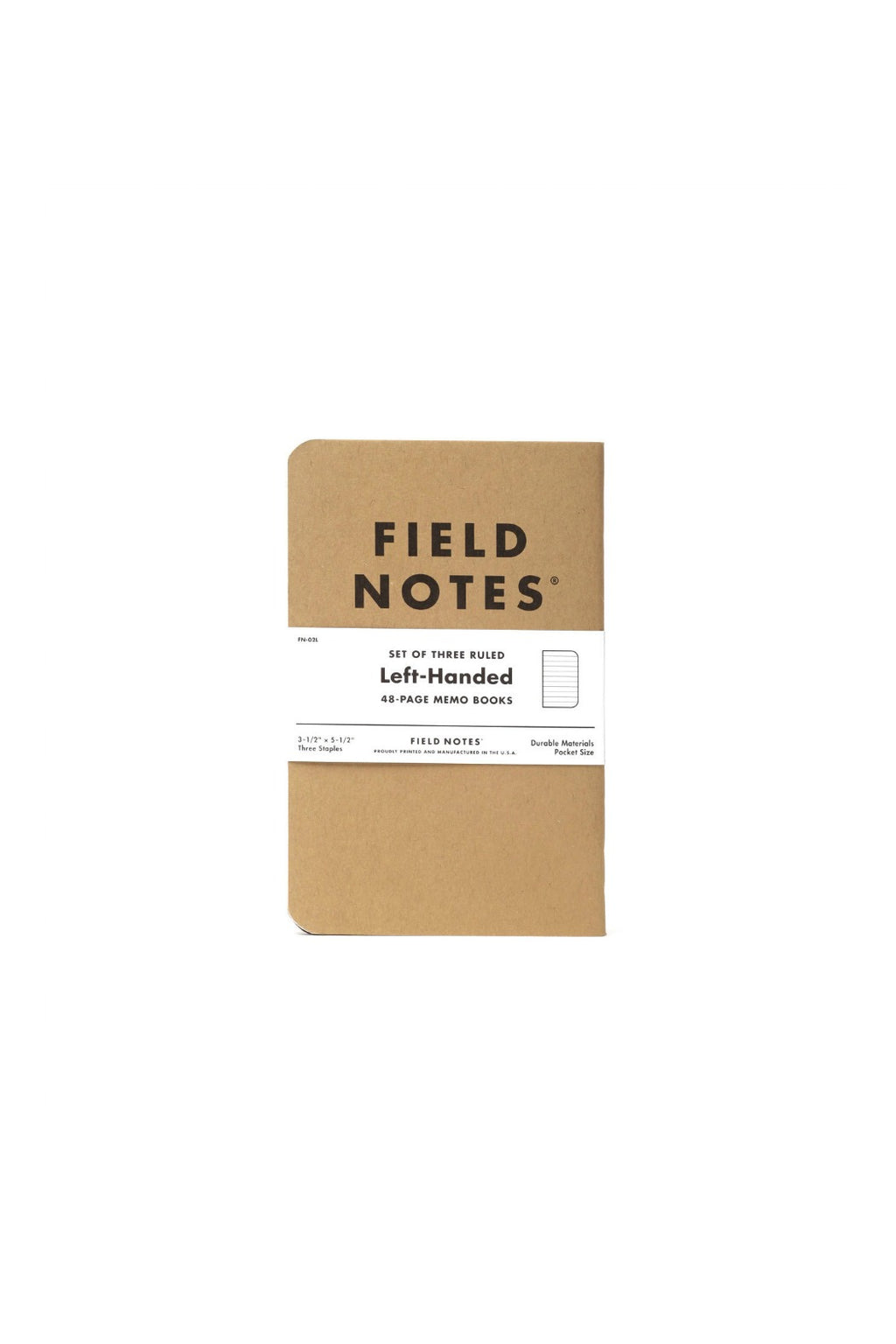 Field Notes Left Handed Ruled