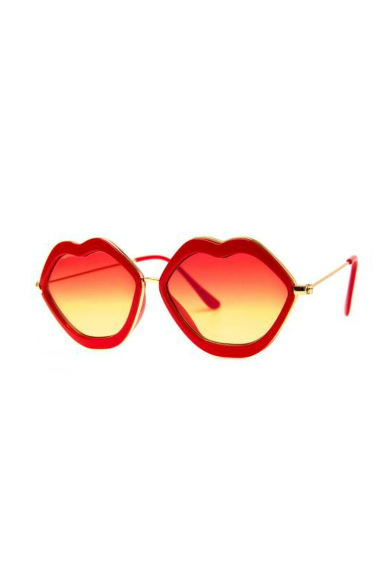 Lips Sunnies - Red