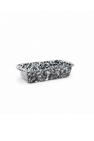 Crow Canyon Home Loaf Pan - Black Splatter