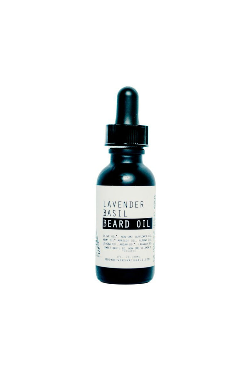 Moon River Naturals Beard Oil in Lavender Basil
