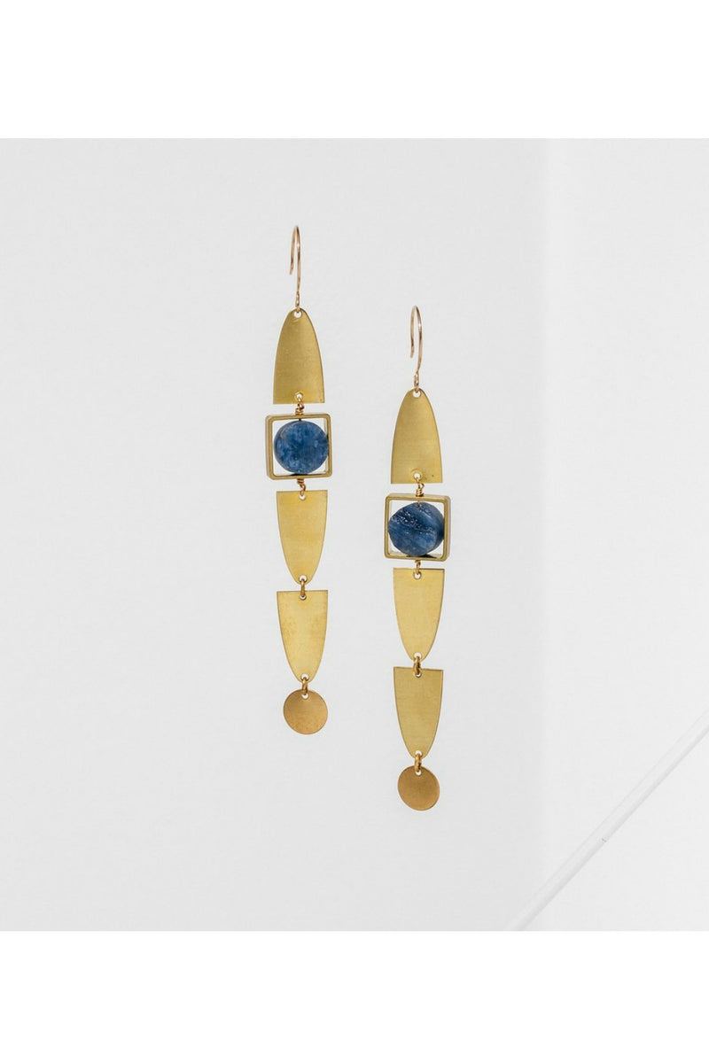 Larissa Loden Maison Earrings - Kyanite