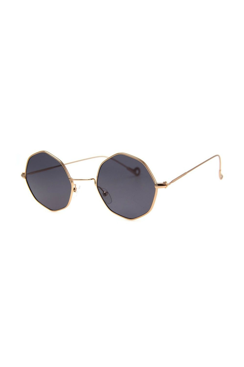 Memory Lane Sunnies - Matte Gold