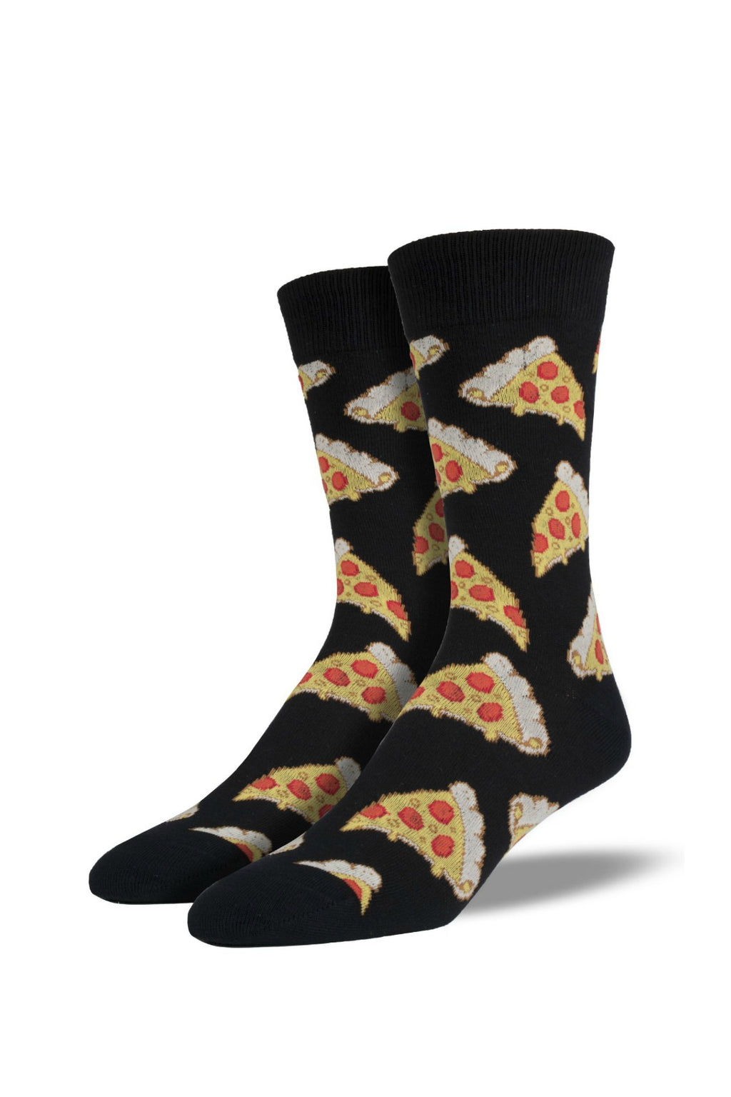 Socksmith Men's Novelty Bamboo Pizza Socks