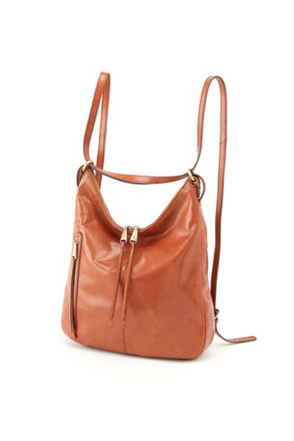 Hobo Merrin Everyday Convertible Backpack in Clay