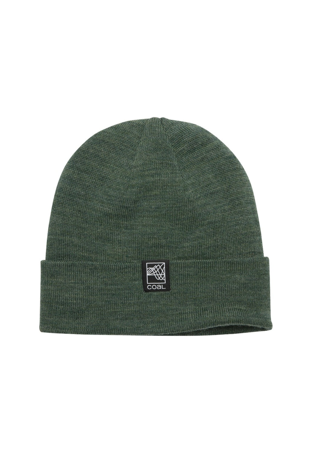 Coal Mesa Beanie - Heather Olive