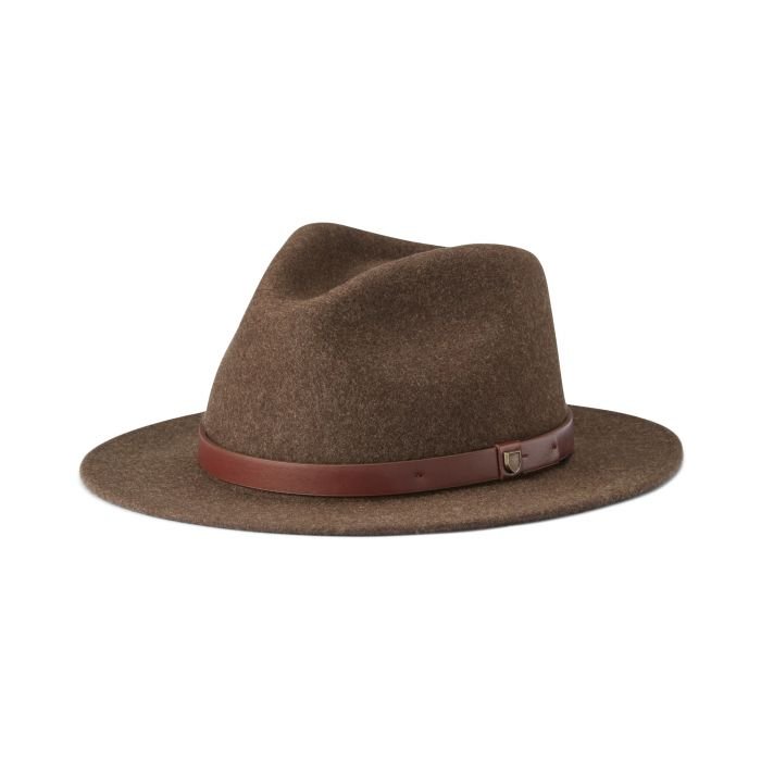 Brixton Messer Fedora - Heather Brown
