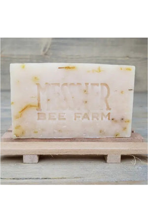Messner Bee Farm Raw Honey and Beeswax Soap - Peppermint Sage