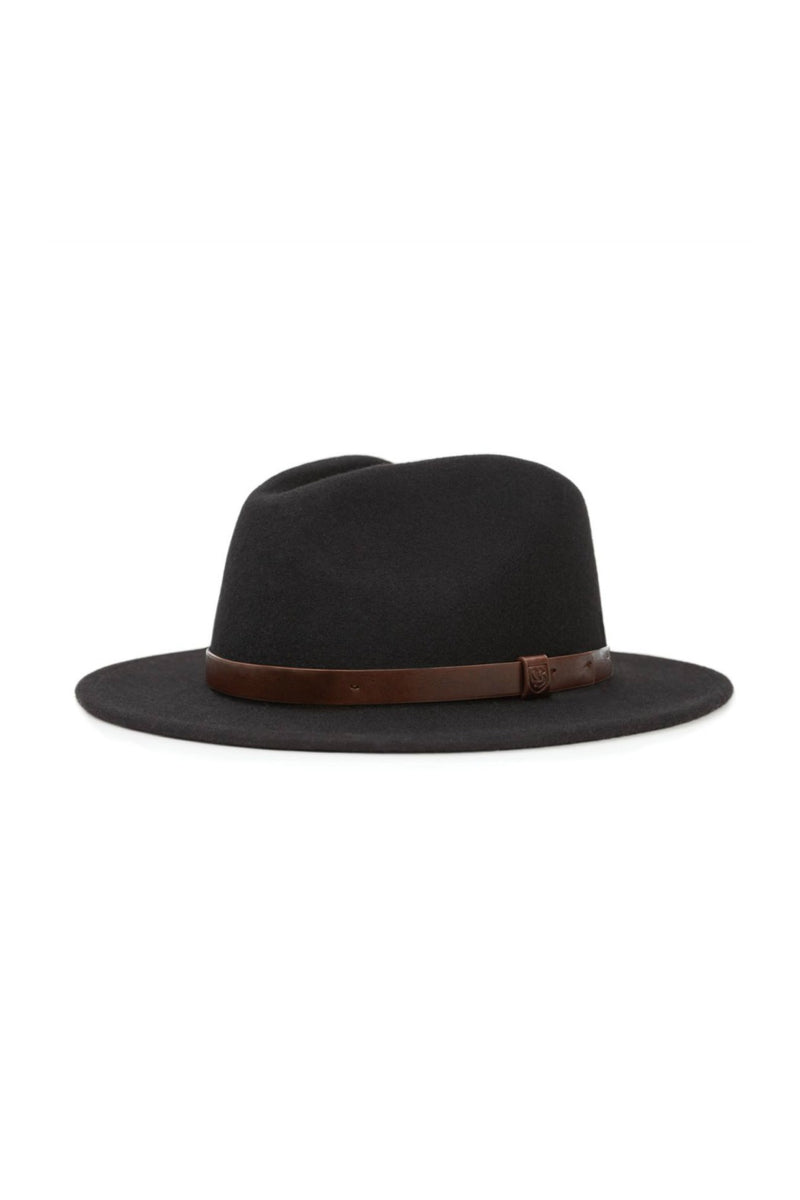 Brixton Messer Fedora in Black