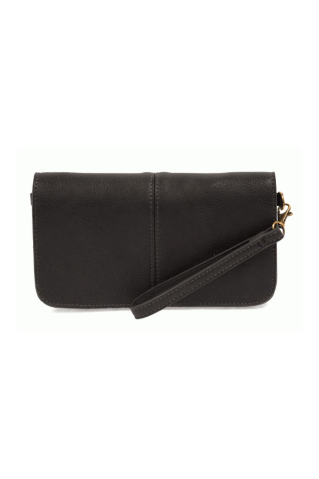 Joy Susan Mia Multi Pocket Crossbody - Black