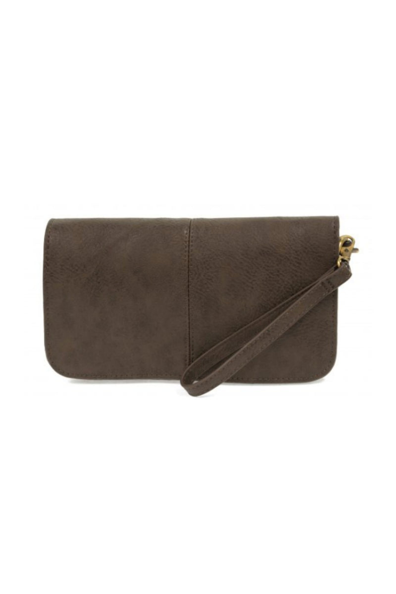 Joy Susan Mia Multi Pocket Crossbody - Espresso