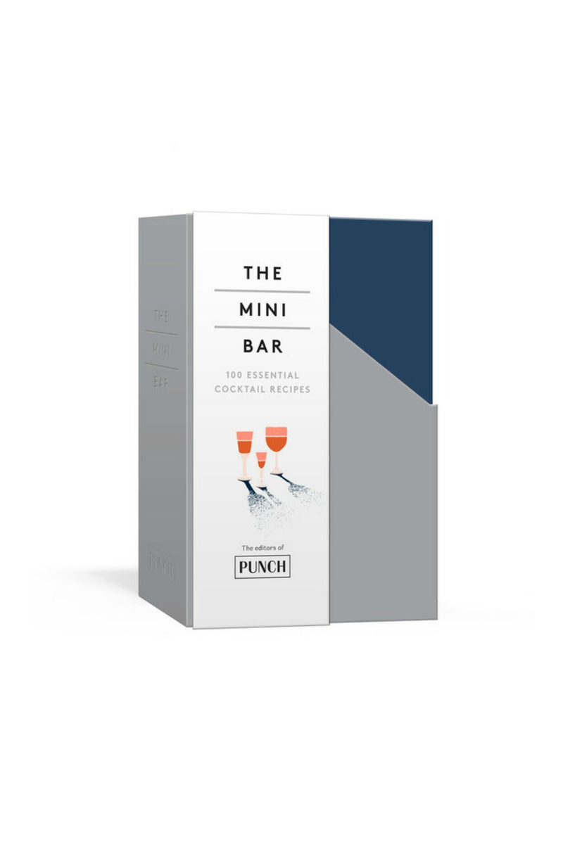 The Mini Bar 100 ESSENTIAL COCKTAIL RECIPES; 8 NOTEBOOK SET By EDITORS OF PUNCH